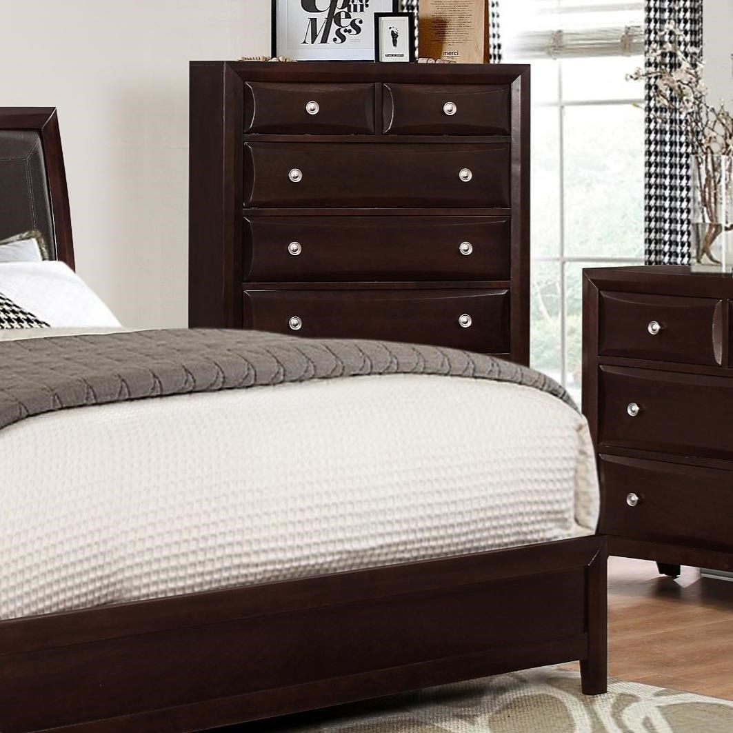 Crown Mark Donovan Chest of Drawers - Item Number: B5800-4