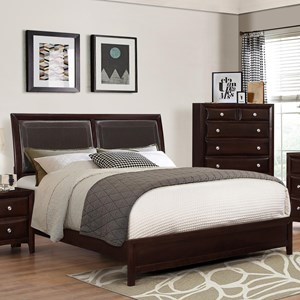 Crown Mark Donovan Queen Low-Profile Bed