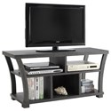 Crown Mark Draper TV Stand - Item Number: 4806-GY