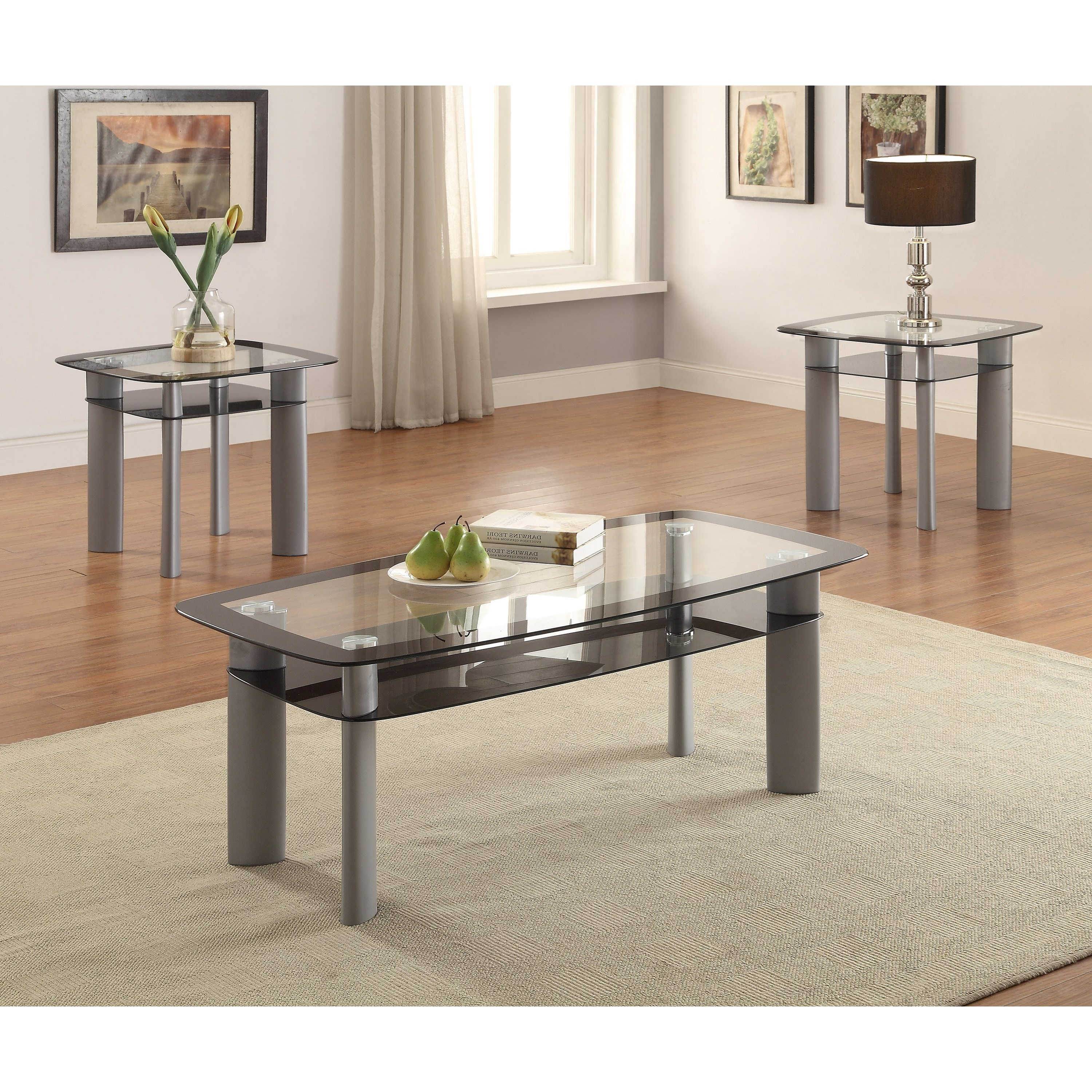 Echo 3 Piece Cocktail Set by Crown Mark at Northeast Factory Direct