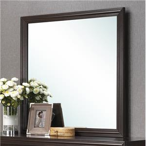 Crown Mark Elijah Transitional Mirror