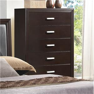 Crown Mark Elijah Transitional Chest of Drawers