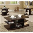 Crown Mark Ella End Table - Shown with Coordinating Coffee Table