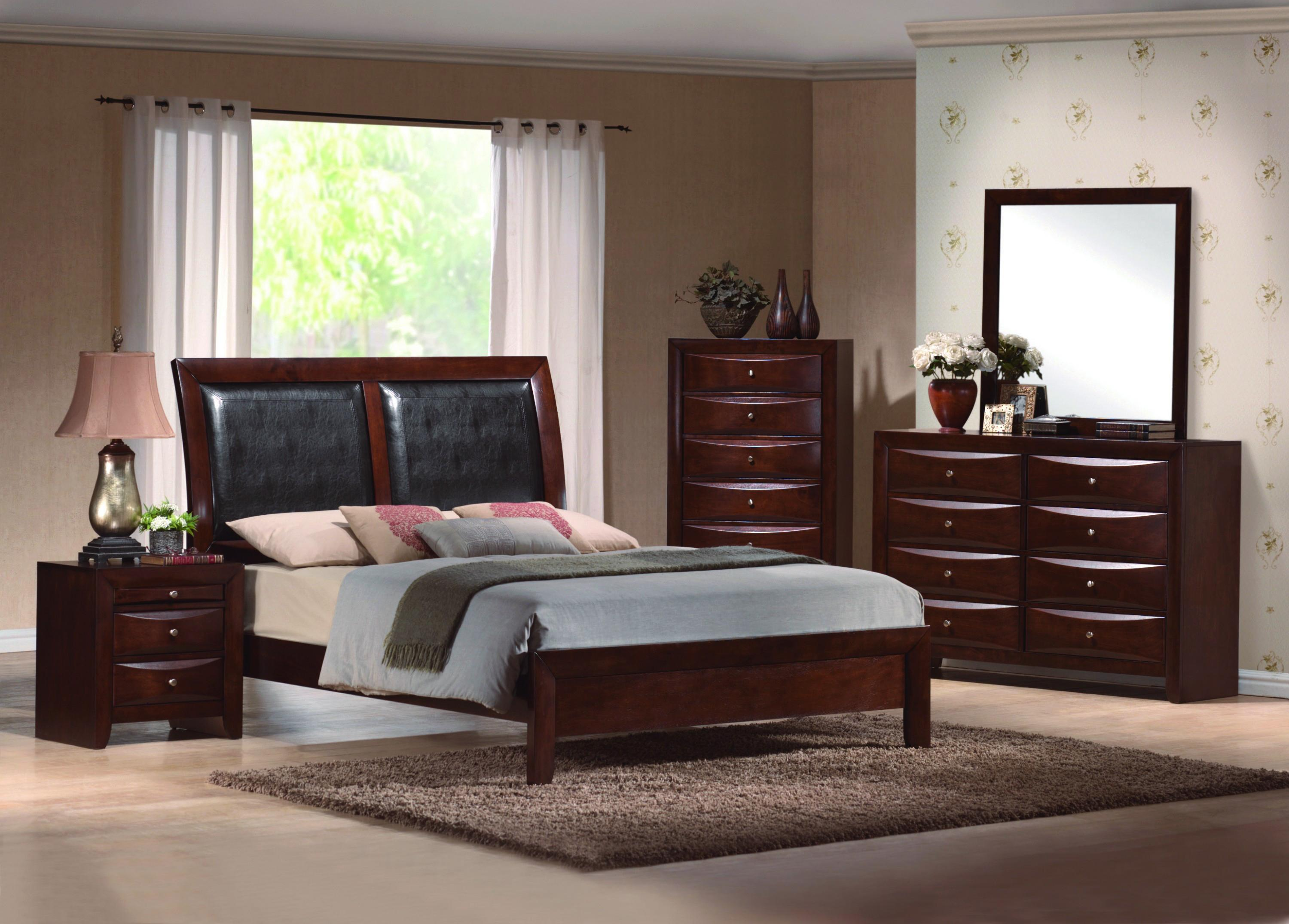 Crown Mark Farrow Queen Bedroom Group: Crown Mark Emily B4202 Contemporary Drawer Night Stand