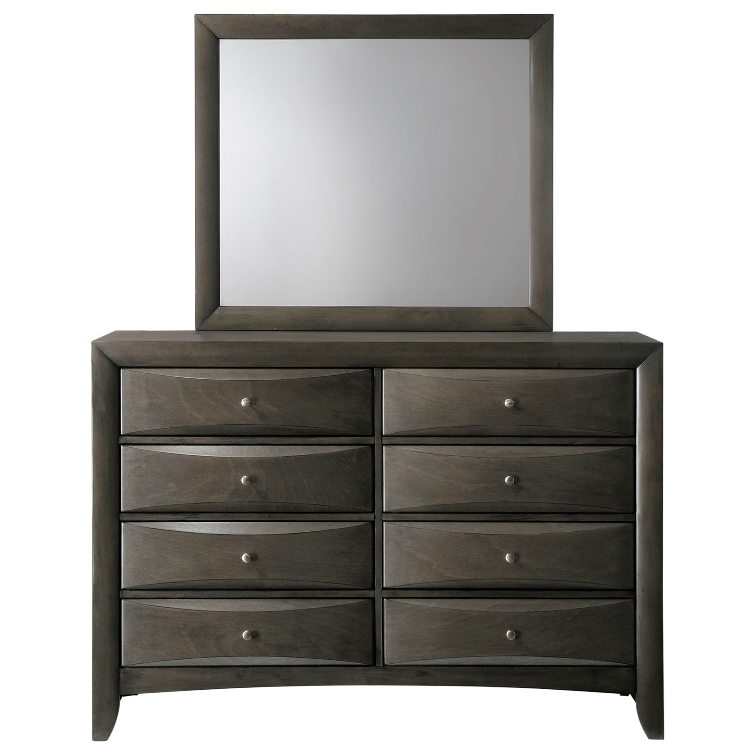 Emily Dresser and Mirror by Crown Mark at Northeast Factory Direct