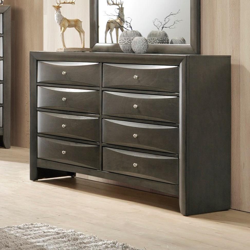 Crown Mark Emily Contemporary Dresser - Item Number: B4270-1