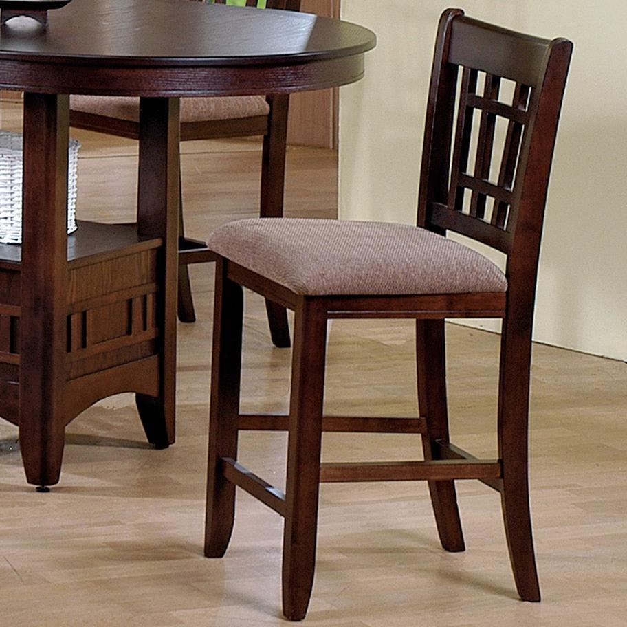 Crown Mark Empire 2185s N Counter Height Side Chair With