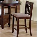 Crown Mark Empire  Counter Height Side Chair - Item Number: 2185S-N