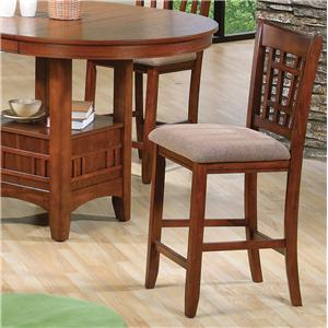 Crown Mark Empire Counter Height Side Chair