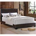 Crown Mark Erin King Upholstered Platform Bed - Item Number: 5271-K-HB+FBRL