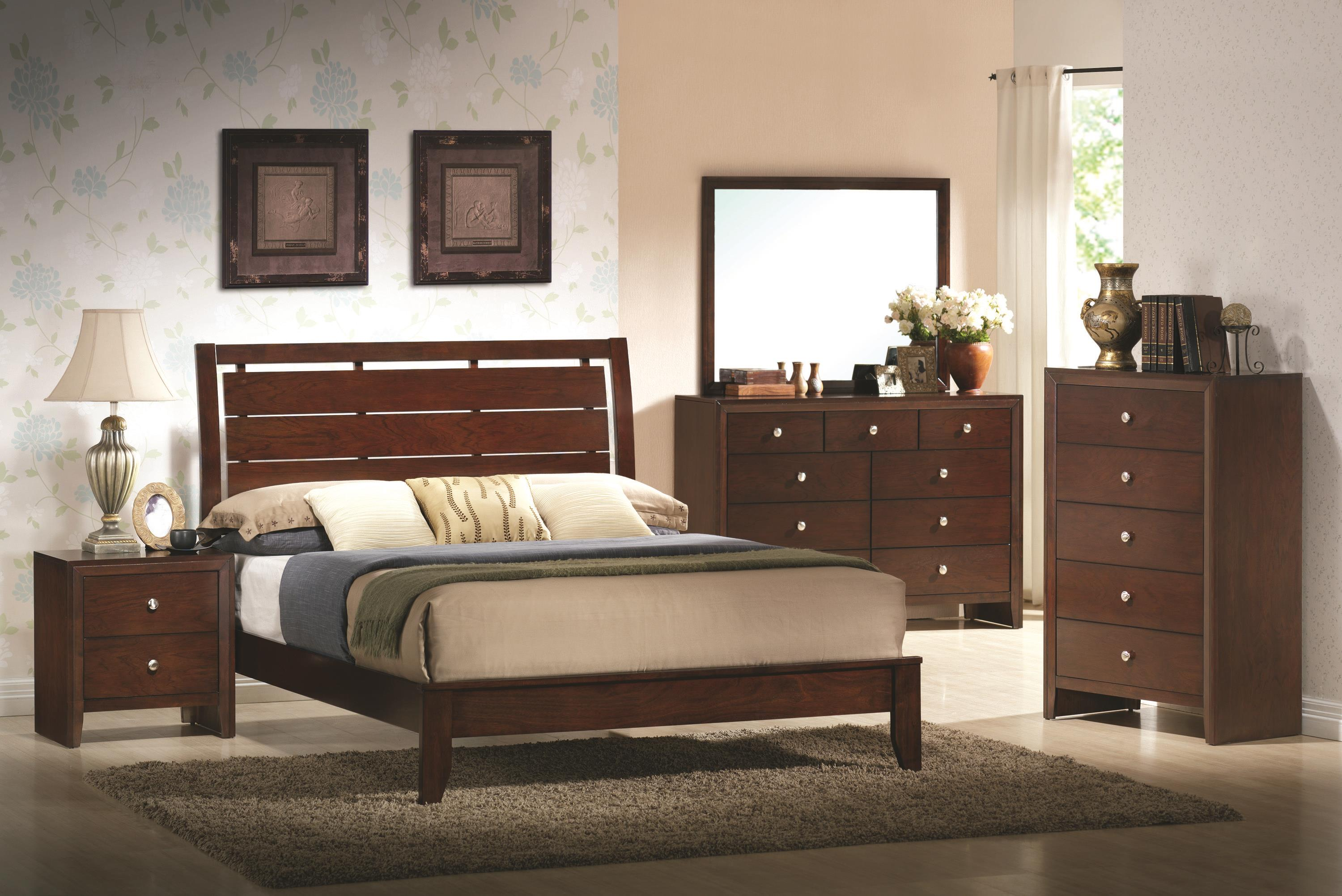 Crown Mark Evan Twin Bedroom Group - Item Number: B4700 T Bedroom Group 1