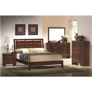 Crown Mark Evan Twin Bedroom Group