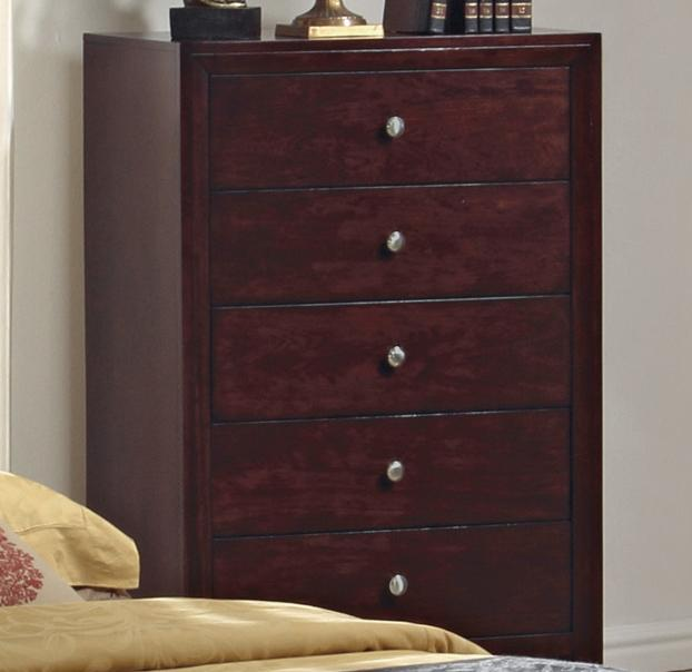 5 Drawer Chest Evan By Crown Mark Wilcox Furniture Drawer Chests Corpus Christi