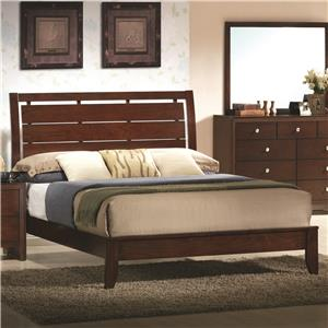 Crown Mark Evan Twin Headboard and Footboard Bed