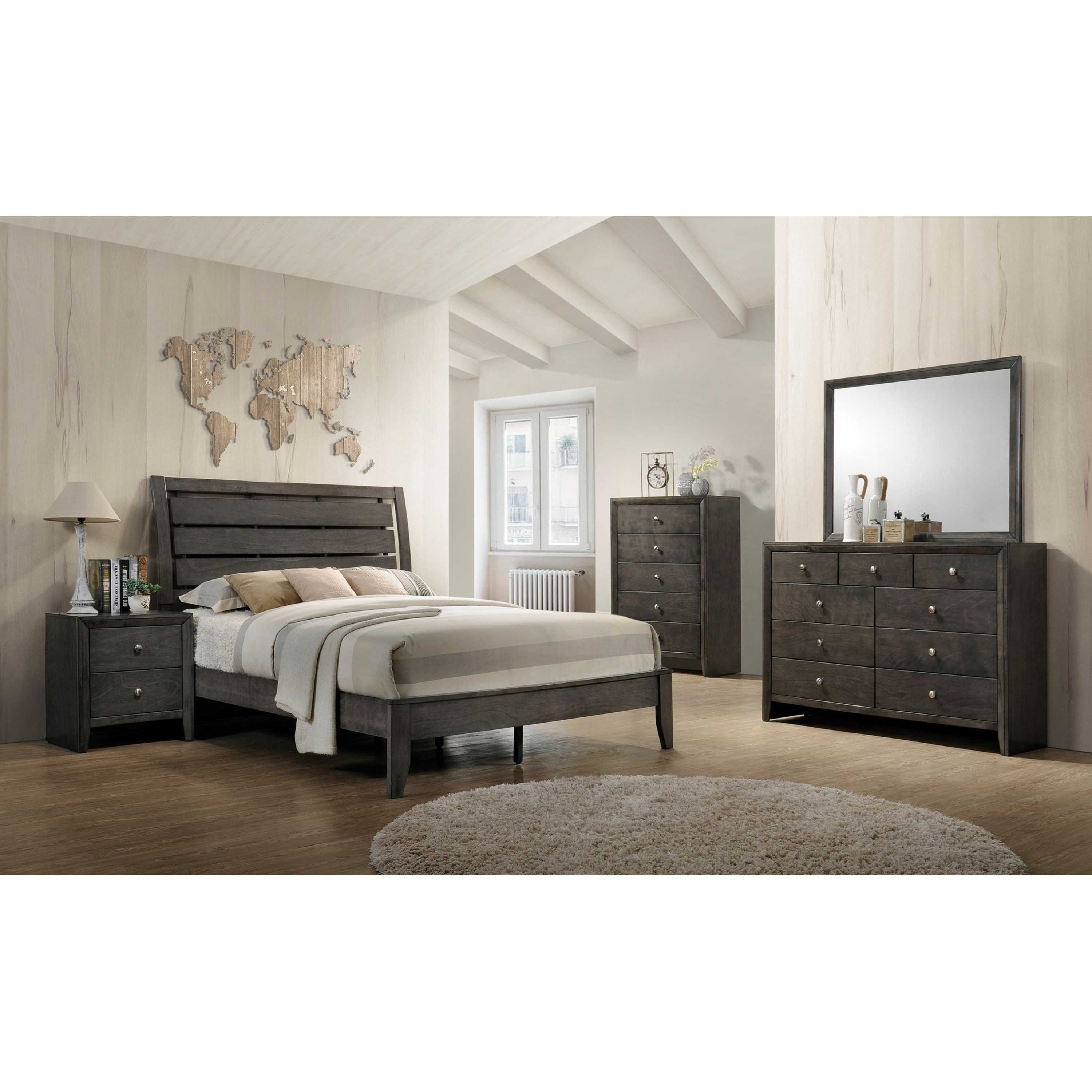 Evan Full Bedroom Group by Crown Mark at Northeast Factory Direct