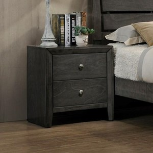 Crown Mark Evan Night Stand                    - B4720-2