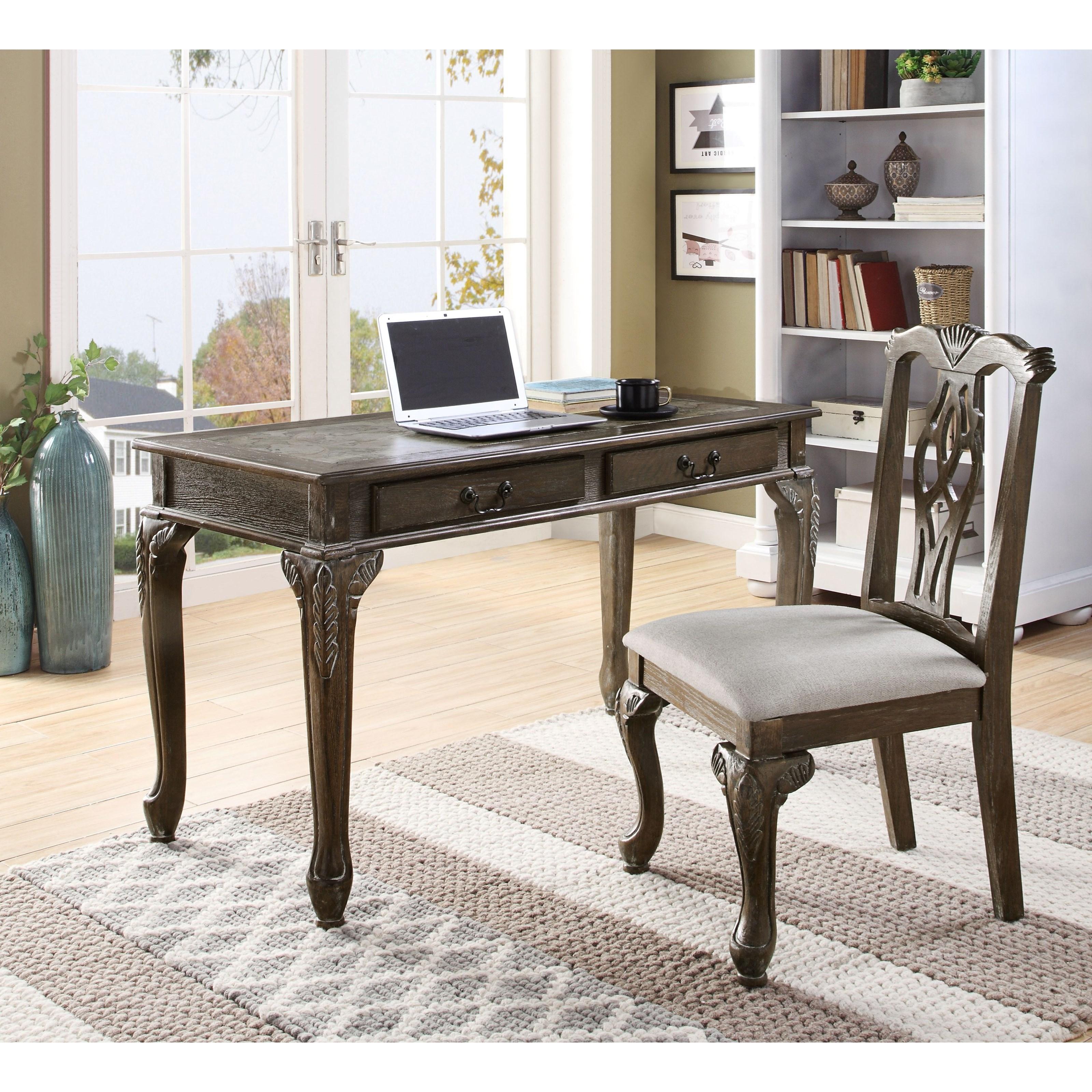 Home Office Desk & Chair Set