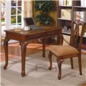 Crown Mark Fairfax  Home Office Desk & Chair Set  - Item Number: 5205SET