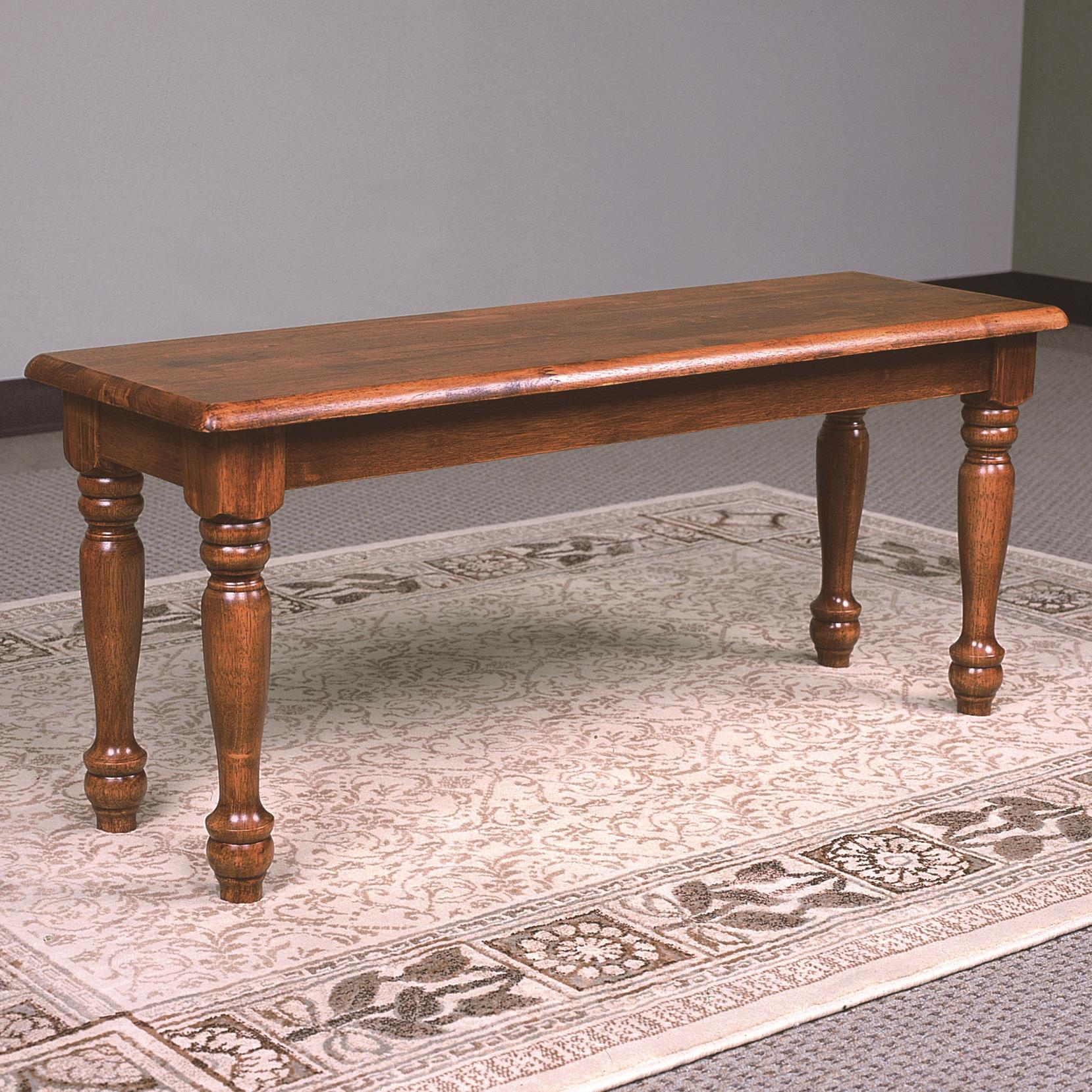 Crown Mark Farmhouse Bench - Item Number: 1032D-OAK