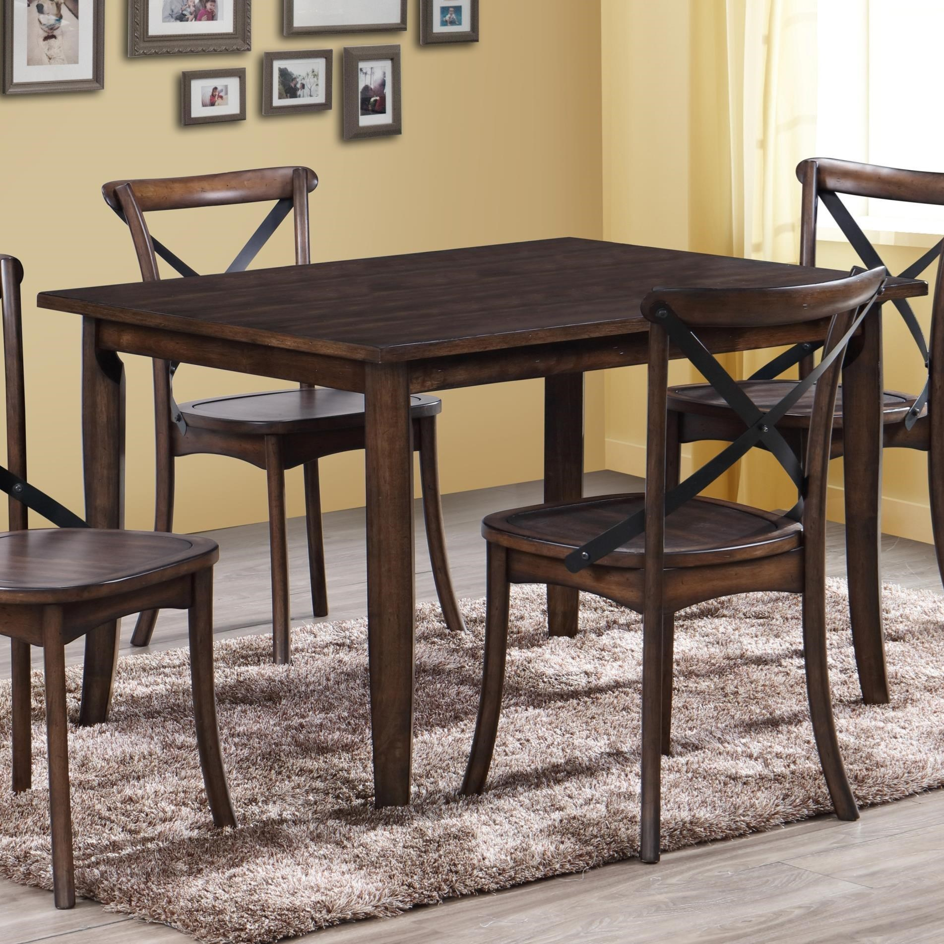 Crown Mark Farris Dining Table - Item Number: 2285T-3648