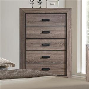 Crown Mark Farrow Chest of Drawers