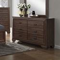 Crown Mark Farrow Dresser - Item Number: B5510-1