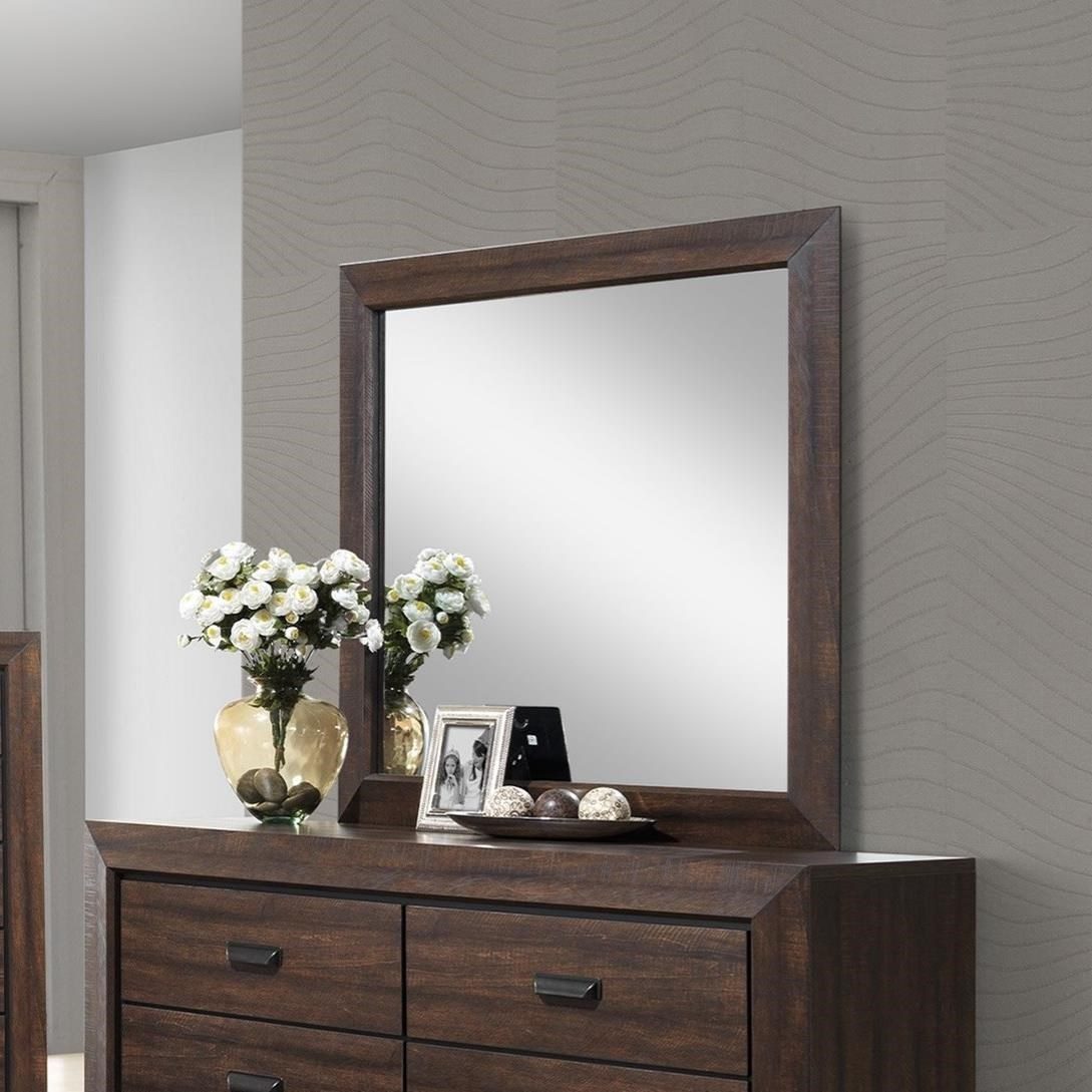 Farrow Mirror by Crown Mark at Northeast Factory Direct