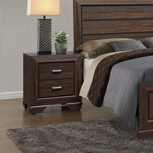 Crown Mark Farrow Nightstand - B5510-2