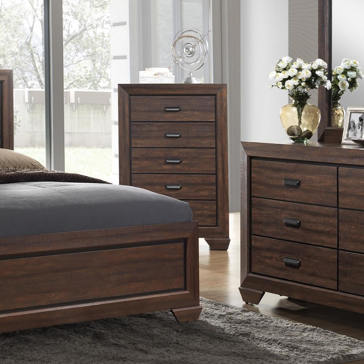 1085 Best Images About Bedroom Furniture On Pinterest: Crown Mark Farrow B5510-4 Transitional Chest Of Drawers
