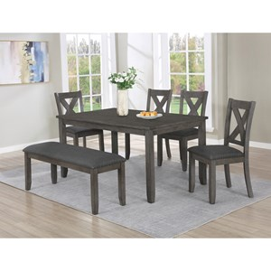 Table Set with Bench