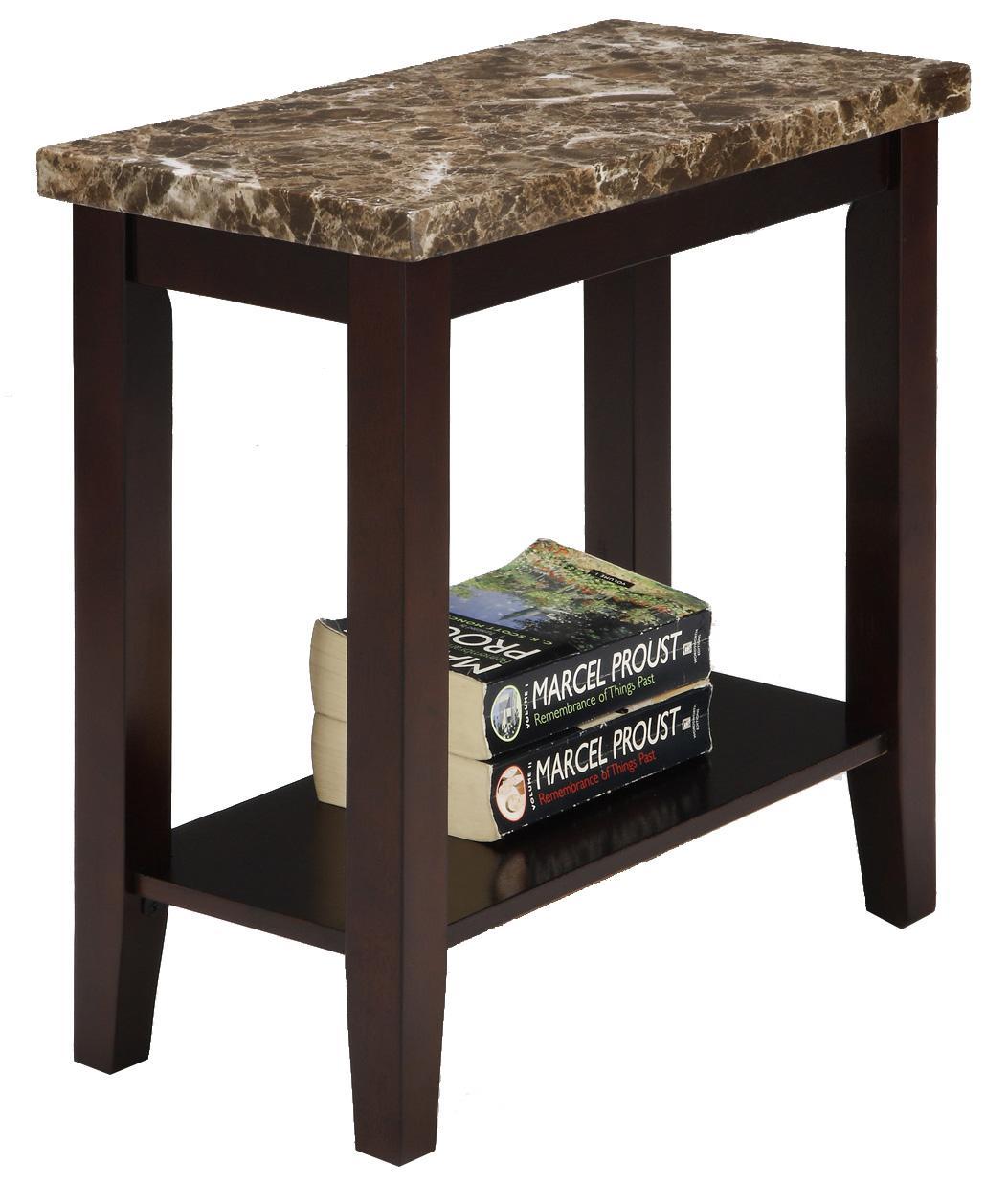 Crown Mark Ferrara Chairside Table - Item Number: 7221