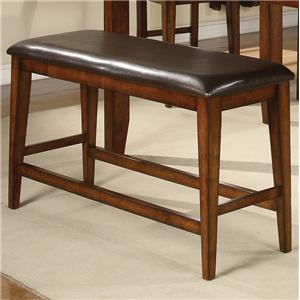 Crown Mark Figaro Counter Height Bench
