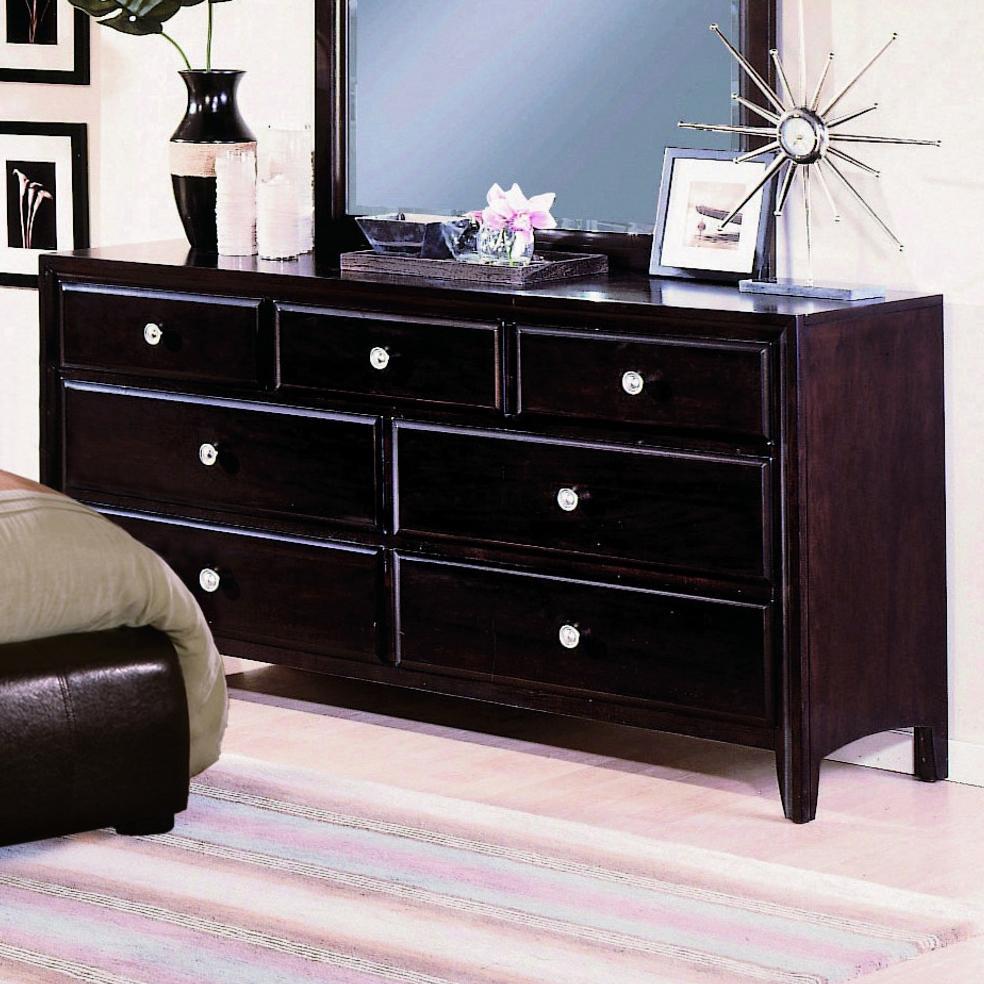 Crown Mark Flynn 7 Drawer Dresser - Item Number: B6201