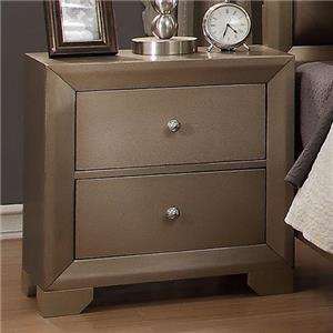 Crown Mark Fontaine Nightstand