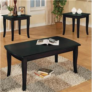 Crown Mark Fremont Cocktail and End Tables Set