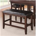 Crown Mark Fulton Counter Height Bench - Item Number: 2727-Bench-V