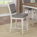 Crown Mark Fulton Counter Height Chair - Item Number: 2727WH-S-24