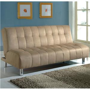 Crown Mark Futons U0026 Daybeds Adjustable Sofa