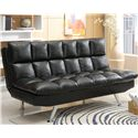 Crown Mark Futons & Daybeds Adjustable Sofa - Item Number: 5250-BK
