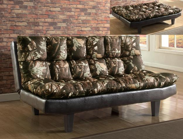 Crown Mark Futons & Daybeds Adjustable Sofa - Item Number: 5250-CAMO