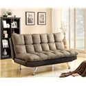 Crown Mark Futons & Daybeds Adjustable Sofa - Item Number: 5250-ESP-PEB