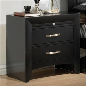 Crown Mark Galinda  Night Stand