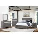 Crown Mark Gaston  Queen Bedroom Group - Item Number: B9520 Q Bedroom Group 1