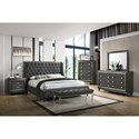 Crown Mark Giovani King Bedroom Group - Item Number: B7900 K Bedroom Group