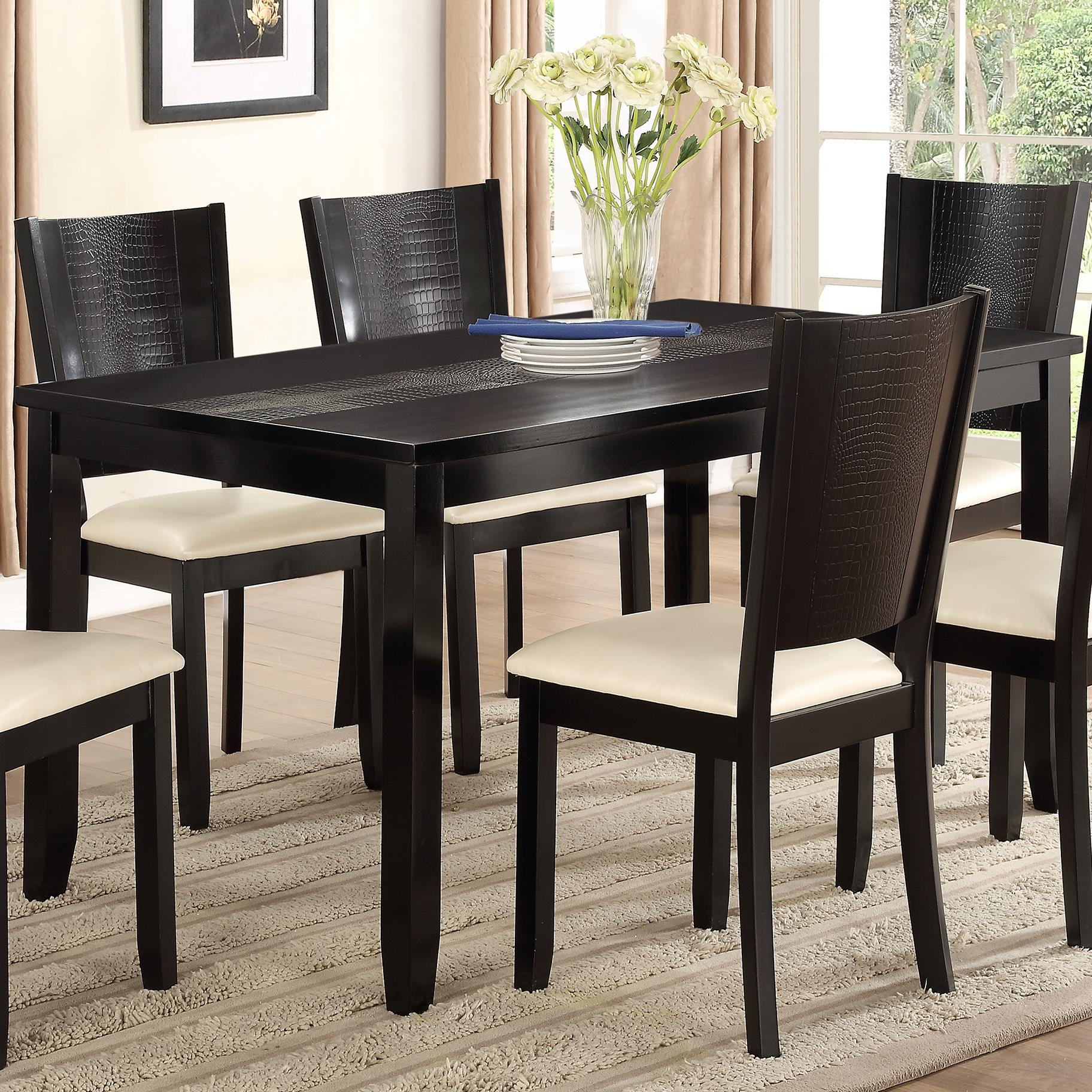 Crown Mark Hanson Dining Table - Item Number: 2252T-3660