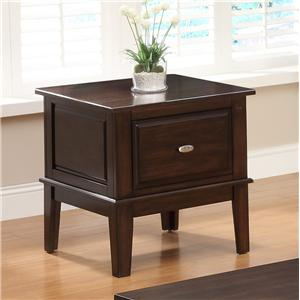 Crown Mark Harmon End Table