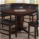 Crown Mark Harrison Counter Height Table - Item Number: 2726T-4848-LEG+TOP