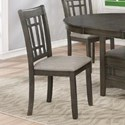Crown Mark Hartwell Side Chair - Item Number: 2195GY-S