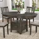 Crown Mark Hartwell Dining Table - Item Number: 2195GY-T-4260