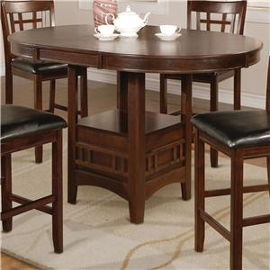Crown Mark Hartwell Counter Height Table